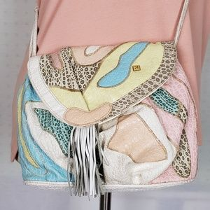 Vintage  | NAS Pastel Abstract 80's Purse